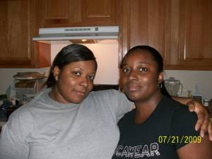 My lovely daughter Kyla n me cookin it up in the kitchen!!!